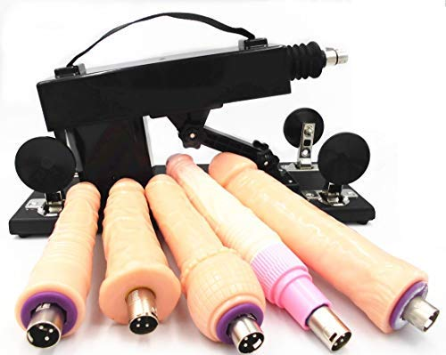 Automatic Adult Massage Machine Gun for Women with Attachments by MachineGuns (Image #5)