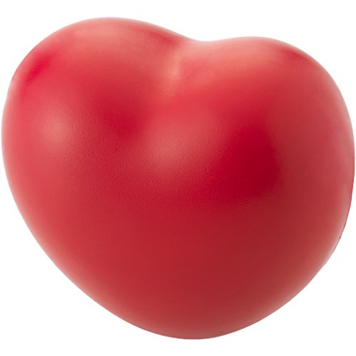 - Bullet Heart Shaped Stress Reliever (2.8 x 2.8 x 1.8 inches) (Red)