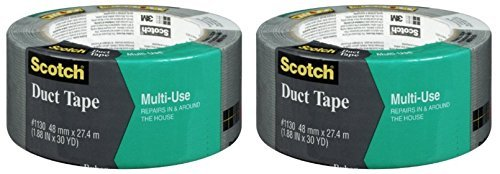 Scotch Multi Use Duct Tape, 1.88-Inch by 30-Yard (2 Pack) (Tough Tape Duct)