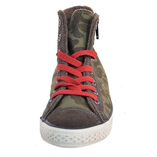 Converse - Converse All Star Ct Side Zip Zapatos Deportivos Niño Caqui 641234C Verde