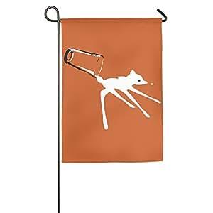 Oh Deer decorativo colorido Mulitcolor casa bandera Banners