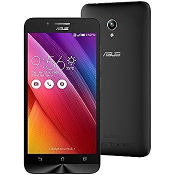 ASUS ZenFone Go ZC500TG 2GB/8GB 5-inch 3G Dual SIM Factory Unlocked BLACK - International Stock No Warranty