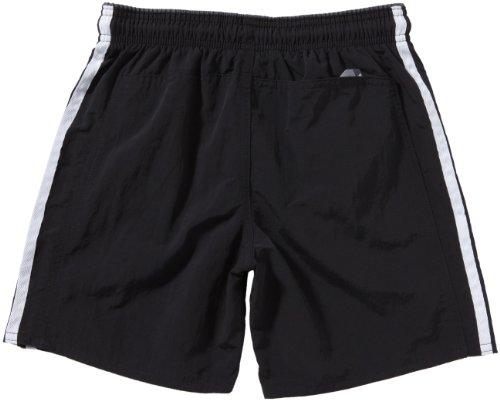 adidas Jungen Badeshorts 3 Stripes Authentic Classic Length black/dark onyx/white hY0UJwOCci