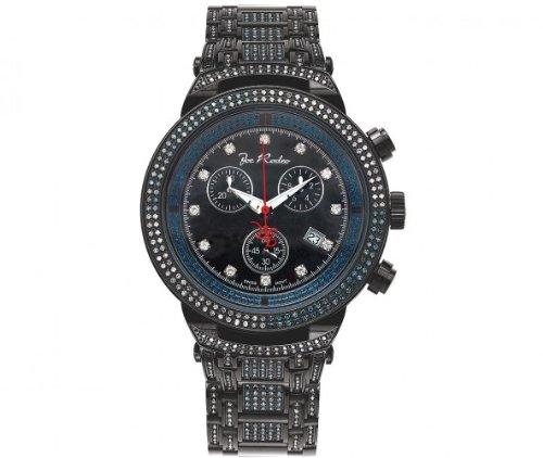 Joe Rodeo Diamond Men's Watch - MASTER black 4.75 ctw