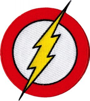 The Flash - Classic Lightning Bolt Logo - Embroidered Iron On or Sew On Patch  sc 1 st  Amazon.com & Amazon.com: The Flash - Classic Lightning Bolt Logo - Embroidered ...