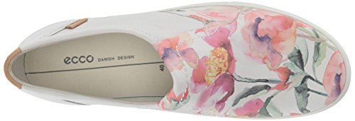 ECCO Women's Soft 7 Slip Sneaker White Floral Print/White/Powder free shipping 2015 new new arrival cheap online ZyDke