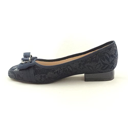 Lotus Peppery - Tacones Mujer Azul (Navy Floral)