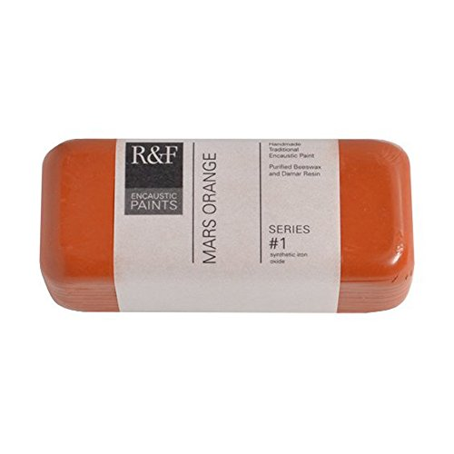 R&F Encaustic 104ml Paint, Mars Orange