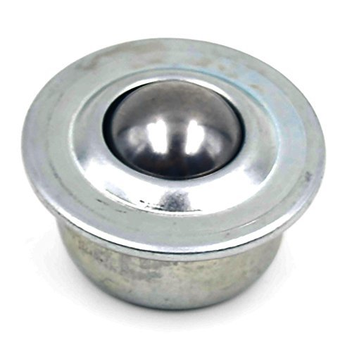 Puuli 30pcs 5//8 33-55lbs Bearing Carbon Steel Universal ball Silver Tone Metal Base Ball Transfer Unit Mounted Bearing Transfer Bearings