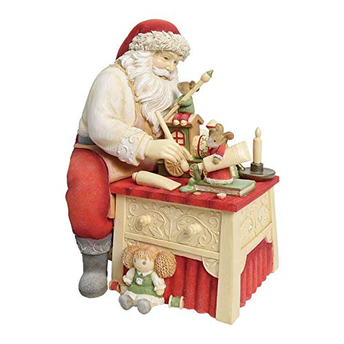 Enesco Heart of Christmas Finishing Touches Mice Brushes Figurine, 7.48