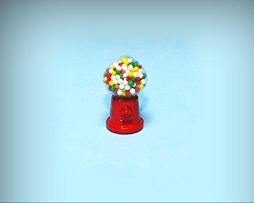 NICE 1:12 Scale Dollhouse Miniature Table Top Gumball Machine #HD210 - My Mini Fairy Garden Dollhouse Accessories for Outdoor or House Decor