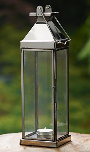 KINDWER Tall Candle Lantern, 14-Inch