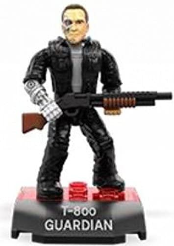 Mega Construx Heroes Terminator Genisys T-800 Guardian Figure Building Toy