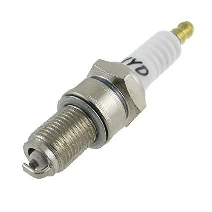 Amazon.com: eDealMax Generador de gasolina Motor piezas de repuesto de 14mm de rosca 79 mm de Largo Plug Spark: Automotive