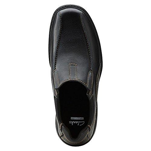 Clarks Mens Sherwin Time Slip-On Loafer Black BmM6pAA