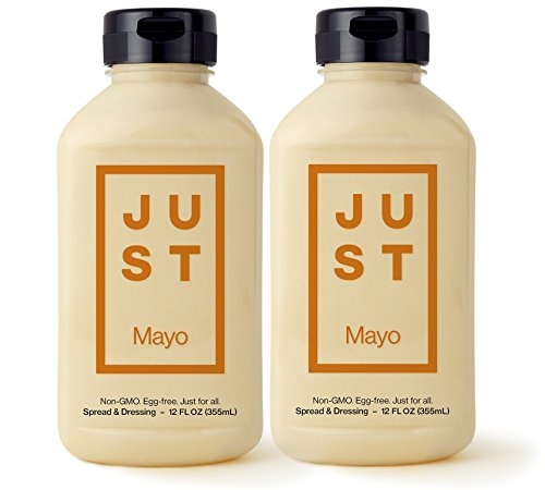Hampton Creek Just Mayo Vegan Eggless Soy-Free Kosher Mayonnaise - Pack of 2
