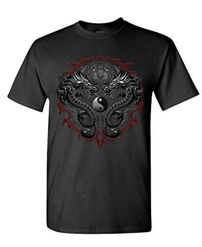 BENGAL RISING dragon Cotton T Shirt