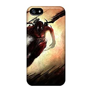 New Shockproof Protection Case Cover For Iphone 5/5s/ Shadow Angel Assassin Case Cover