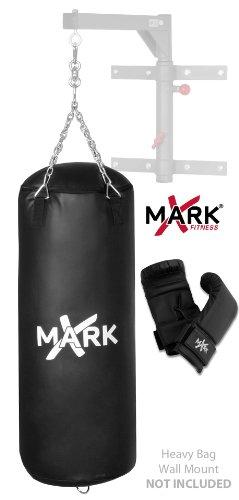UPC 846291000554, XMark Fitness High Performance Vinyl Bag Set (Black, 50 -Pounds)