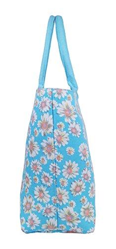Borsa borse da Borsa Shoulder Borse spiaggia stile vacanze ideale Shopper nbsp; Handbag Tela per Shopping 4wxqdHHX