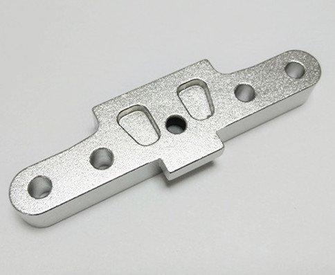 CrazyRacer H-P-I Ken Block WR8 Flux BULLET3.0 MT ST Upgrade Parts Aluminum Alloy Rear Arm Mount Anodized Silver -1PC Set
