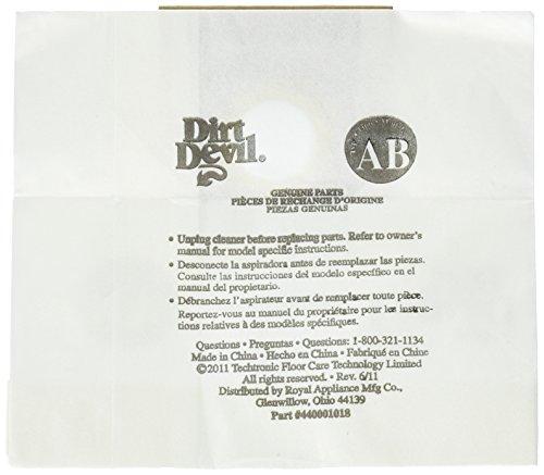 dirt devil bag type ab - 5