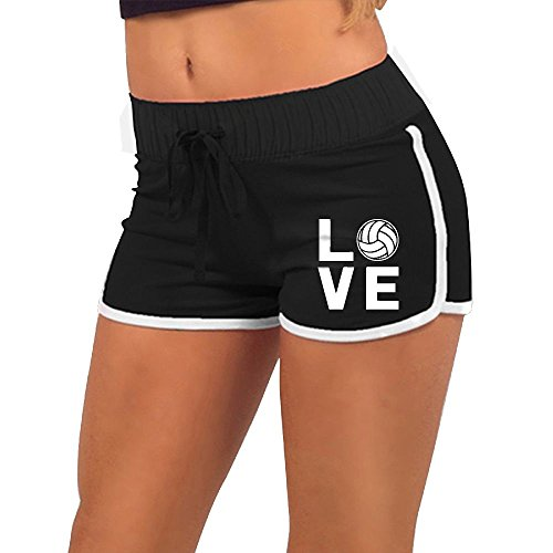 UneERr-2 Love Volleyball Women Low-Waist Stretch Briefs Beach Shorts | Hot - Volleyball Beach Candid