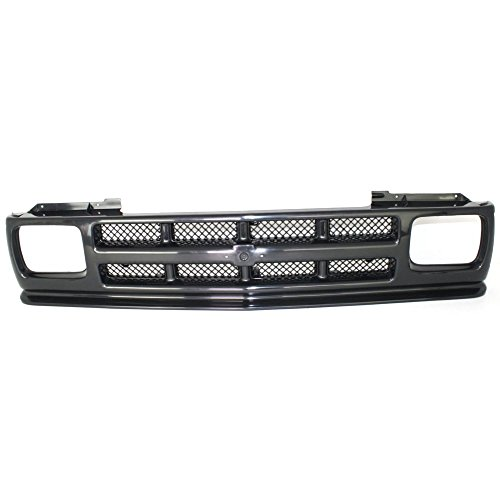 - Grille for Chevrolet S10 Blazer 91-94/S10 Pickup 91-93 Textured Black