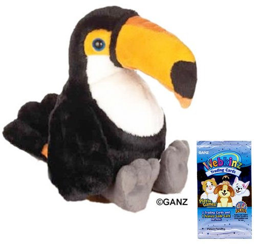 (Webkinz Toco Toucan + 1 Pack of Trading Cards [Toy])