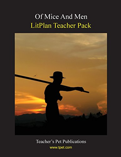 Of Mice And Men LitPlan - A Novel Unit Teacher Guide With Daily Lesson Plans ()