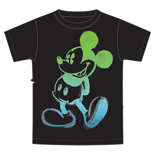Disney Mickey Mouse Boys Glow T Shirt (8)