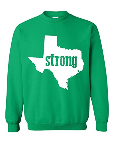 Texas Sweatshirt Strong Texas Home Of Texas State University and Bobcats Unisex Crewneck Sweatshirt (University Of Texas Halloween Party)