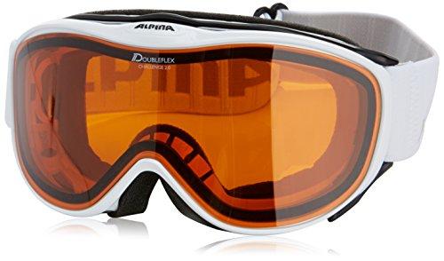 Alpina Skibrille Challenge 2.0 DH, white, One size, 7094111