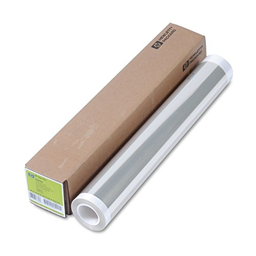 HP C3876A Designjet Inkjet Large Format Paper, 24'' x 75 ft, Clear by HP