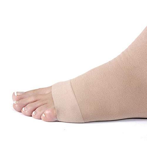 Toe Relief Leg Size 30 Single Beige Open Leg 40 Chap Medium Mmhg Left YHSCxqY