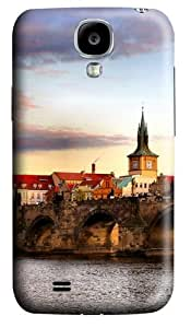 Bridge Landscape Polycarbonate Hard Case Cover for Samsung Galaxy S4/Samsung Galaxy I9500 3D