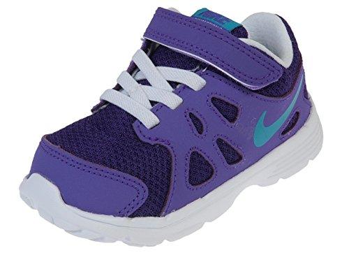 Nike (Td) Toddler Revolution 2 Running Shoes, Purple, 6 M Us