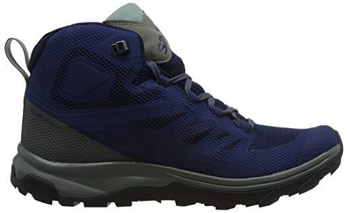 Mid Outline Gtx Chaussures Blue Salomon EZqUw5OOx