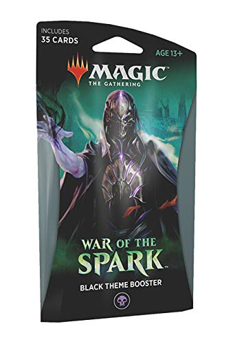 - Magic The Gathering: War of The Spark - Theme Booster Pack - Black