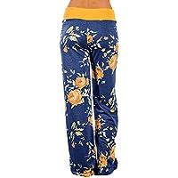 010 Women's Comfy Stretch Floral Print Leg Lounge Pants (Various Colors)