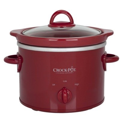 Crock-Pot 2 Qt Slow Cooker - Red