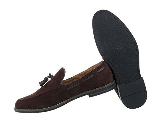 Halbschuhe Herren Schuhe Schuhe Herren Dunkelbraun Herren Schuhe Dunkelbraun Slipper Halbschuhe Halbschuhe Slipper H7gxf