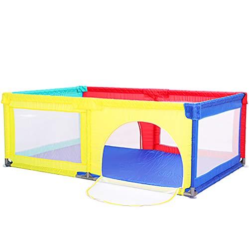 WYQ Corralito Juego de área de Juego para la Cerca del bebé (Parque Infantil de Color, Esterilla de Arrastre) Patio de...