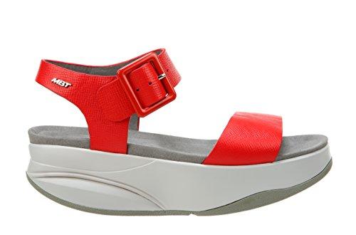 Mbt Ladies Manni 2 W Sandali Con Cinturino Rosso (rosso 06n)