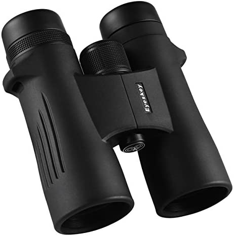 Eyeskey 10×42 HD Waterproof Binoculars for Adults, Phase Correction Coated BaK4 Prism, 341ft Wide Field of View, Durable Magnesium Alloy Body