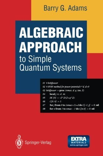 Algebraic Approach To Simple Quantum Systems With Applications To Perturbation Theory [Pdf/ePub] eBook