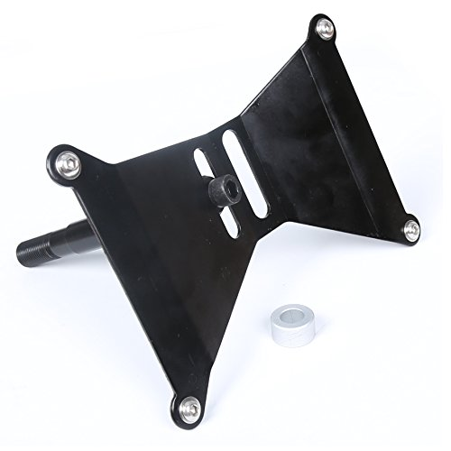 Dual Position Front License Plate Relocation Holder Kit 2015-16 Subaru WRX & STi (Relocation Plate)