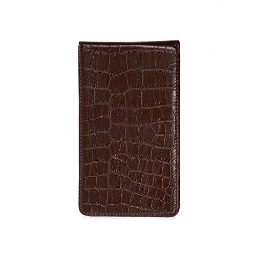 Magic Vosom Professional Golf Scorecard Holder Yardage Book Holder Brown