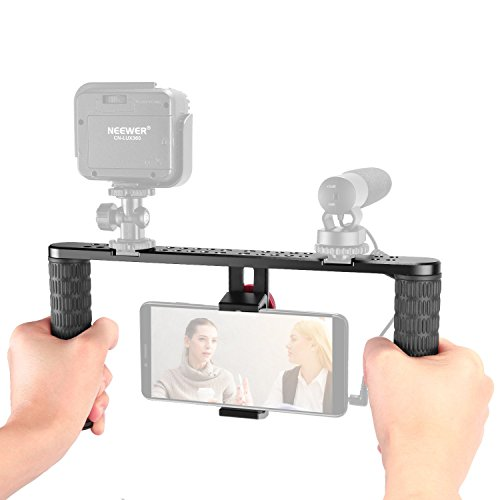 Neewer Metal Smartphone Video Rig,Filmmaking Recording Vlogg