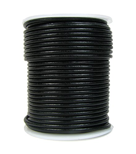 round leather cord 2mm - 1